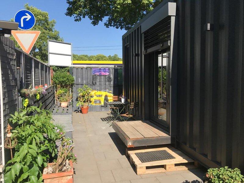 Exklusives Smart Tiny House Köln Niehl, location de vacances à Cologne