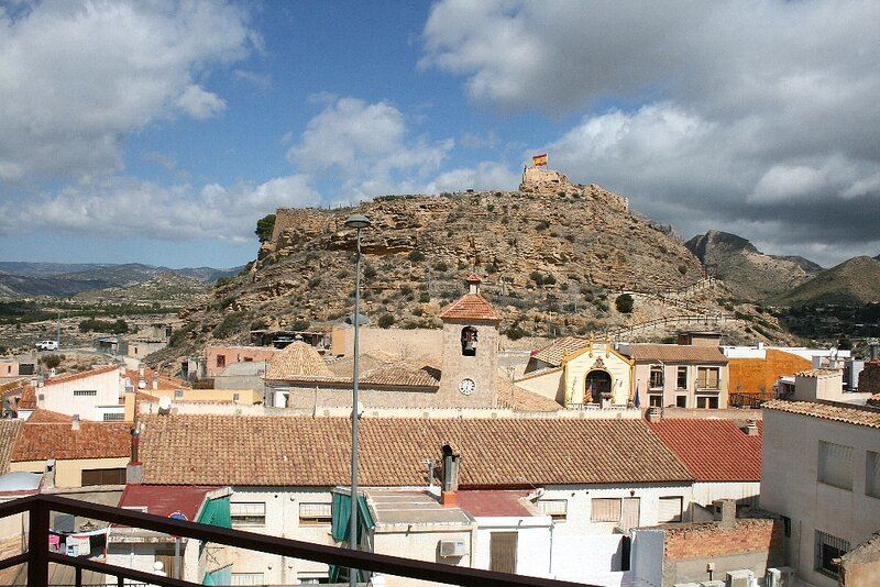 Busot village apartment, Alicante, Spain, holiday rental in Ibi