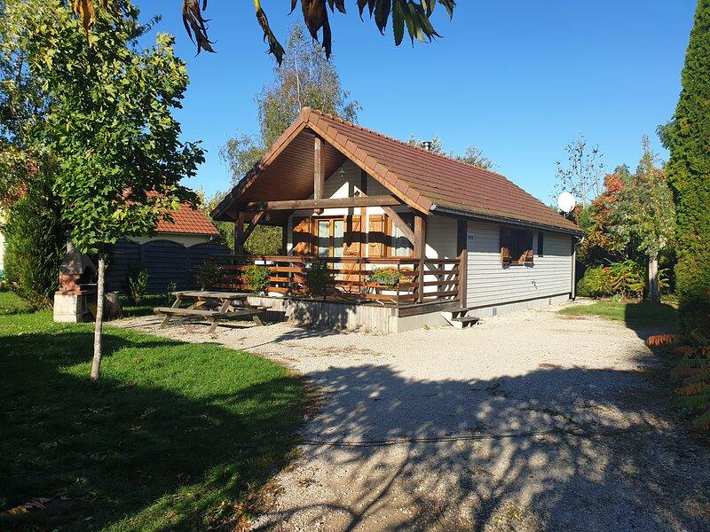Les Silènes 1, holiday rental in Clairvaux-les-Lacs
