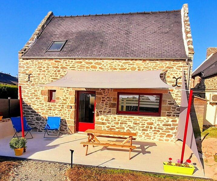 Gîtes le Beauséjour La cidrerie Saint-Malo / Dinan, vacation rental in St Suliac