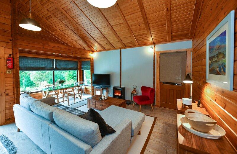 Lyall Lodge, location de vacances à Kirkbean