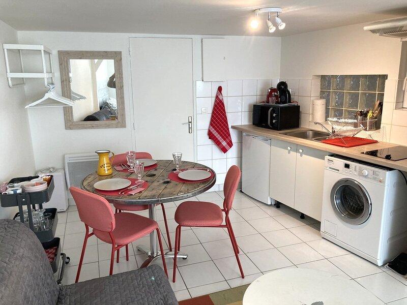 Charmant studio au calme et en plein centre ville de Saint Arnoult, alquiler de vacaciones en Dourdan
