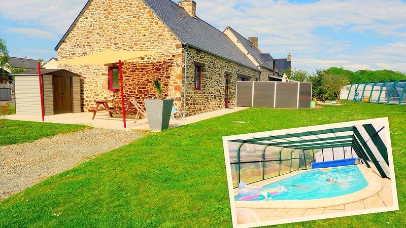 Gîtes le Beauséjour L'écurie - Saint-Malo / Dinan, vacation rental in St Suliac