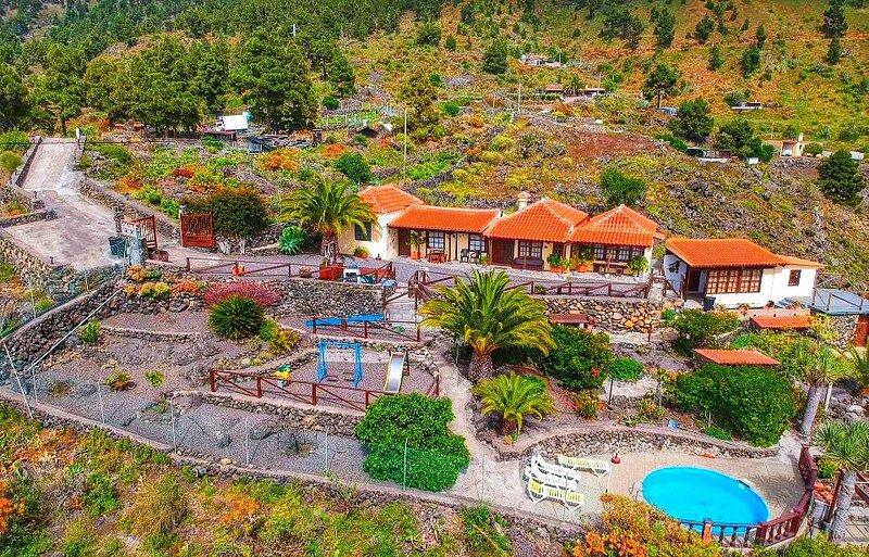 Espectacular casa rural en la isla de La Palma, casa vacanza a El Paso
