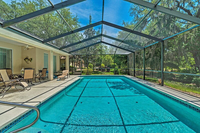 NEW! Citrus Springs Oasis - 15 Mi to Crystal River, holiday rental in Citrus Springs