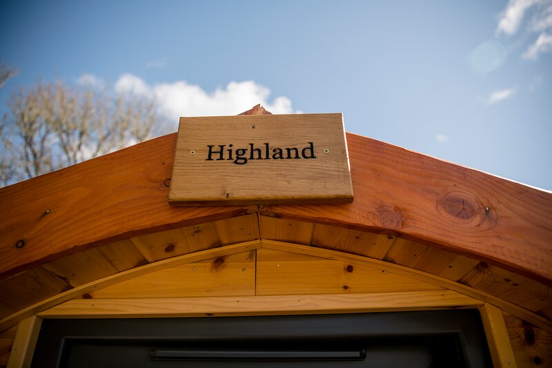 Highland Glamping Pods, holiday rental in Letterfinlay