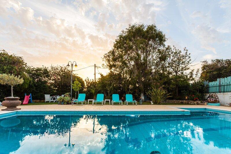 Beachfront Luxury Villa-Private Pool,Endless Views, holiday rental in Zacharo