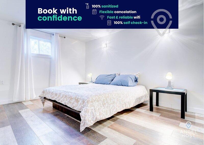 Cozy Apartment Near Quartier Dix30 & DT Montreal, alquiler de vacaciones en Saint-Bruno-de-Montarville
