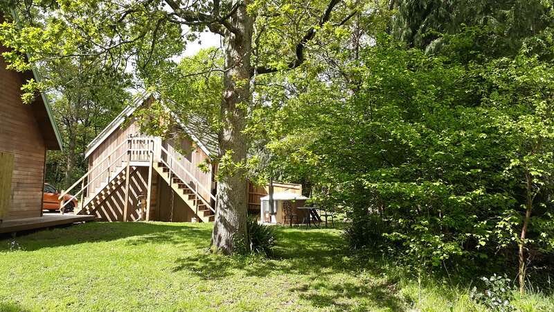 Woodland -Studio with hot tub in the New Forest, holiday rental in Dibden