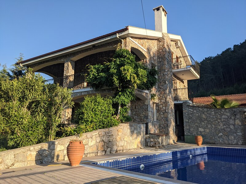 Luxury mountain villa with private pool, location de vacances à Yesiluzumlu