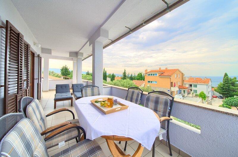 Apartments Loncar, holiday rental in Krk
