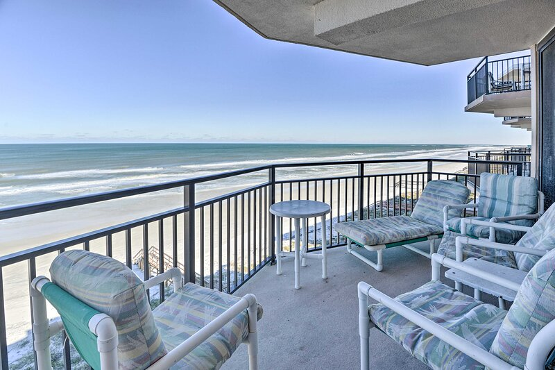 NEW! Beachfront Ponce Inlet Condo w/ Pool & More! – semesterbostad i Ponce Inlet