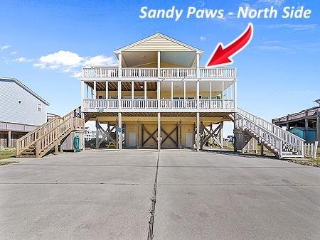 'Sandy Paws, location de vacances à North Topsail Beach
