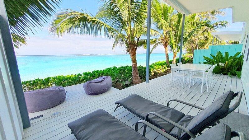 Beach Vibe Luxury Beachfront Villa, holiday rental in Muri
