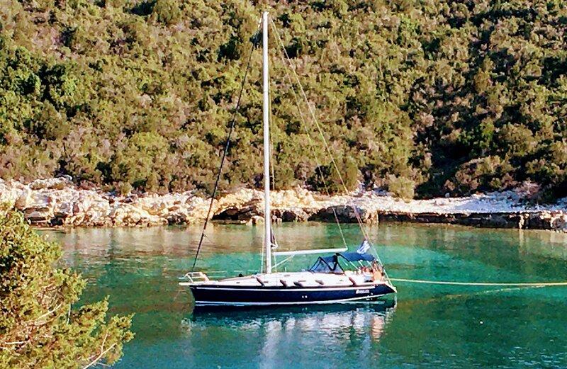 Myblue4you Greece island sailing experience, alquiler vacacional en Krotiri