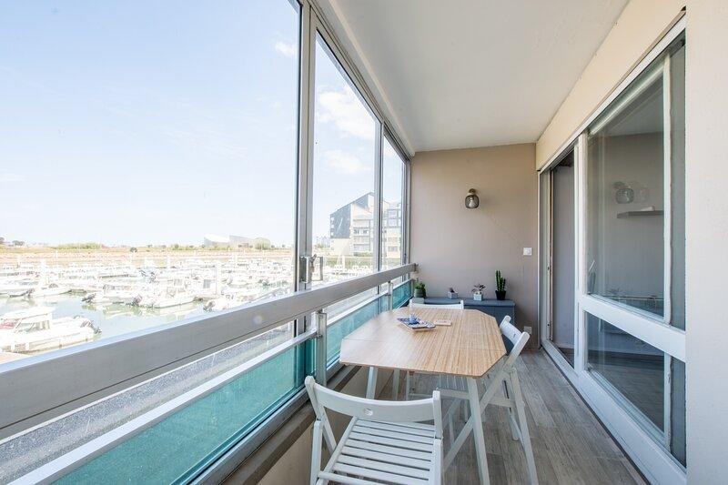 Boutton d'Or - Studio vue sur le port - Courseulles sur Mer, location de vacances à Ver-sur-Mer