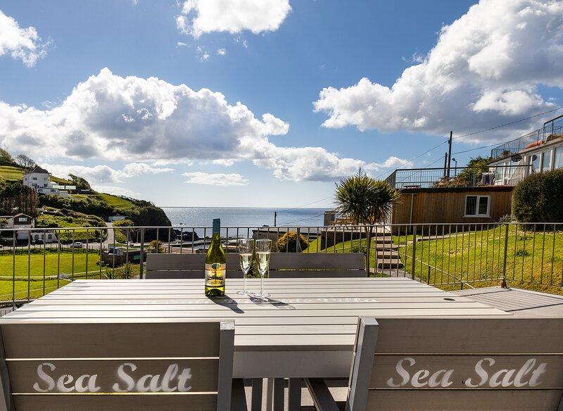 Sea Salt Hillside Villa, alquiler vacacional en Looe
