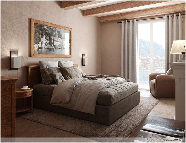 Al Molo 5 Camere con balcone e Ristorante direttamente a lago, holiday rental in Onno