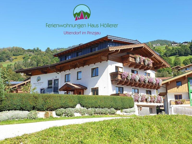 Haus Höllerer - Ferienwohnungen nahe Zell am See, Kaprun und Kitzbühel, holiday rental in Uttendorf