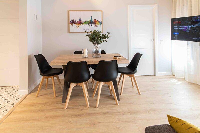 Brand new & cozy Apartment with free parking by Barcelona Touch Apartments, aluguéis de temporada em L'Hospitalet de Llobregat