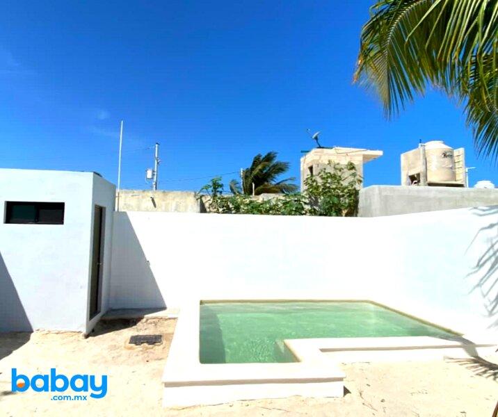 Casa con piscina en Chicxulub a 100 m de la playa, holiday rental in Chicxulub Municipality