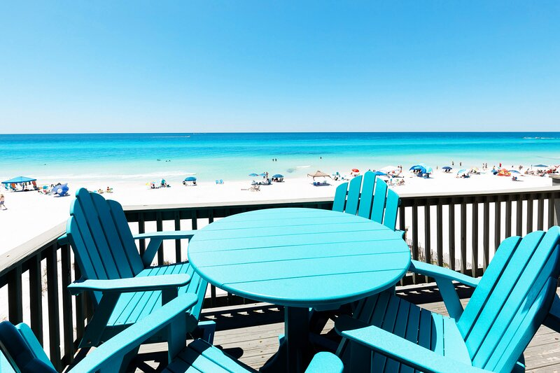 Main Level Deck -  Sanddollar Townhomes Unit 11 Miramar Beach Destin Florida Vacation Rentals