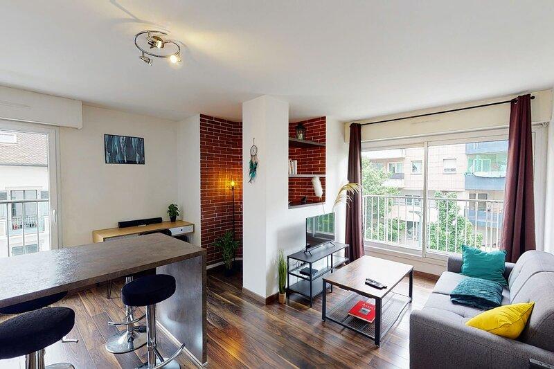 Le Berthollet 9 - Appartement rénové, 1 chambre, à 2 pas du centre-ville, aluguéis de temporada em Cran-Gevrier