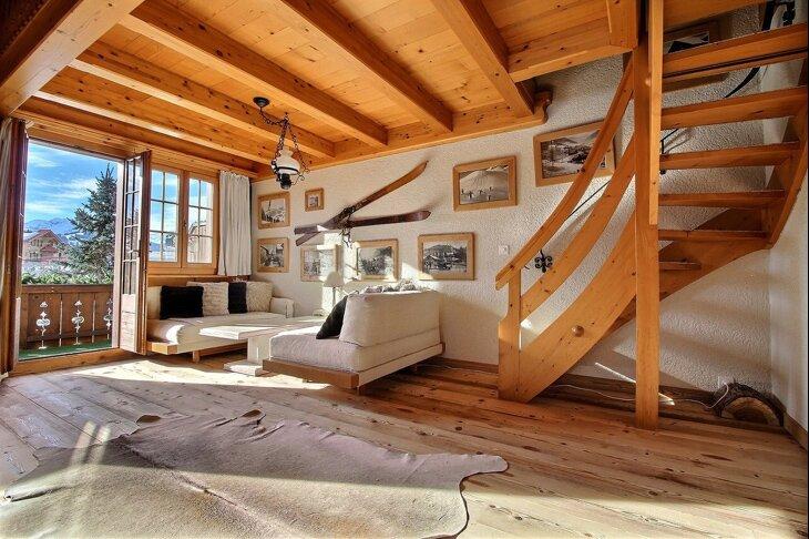 Chalet Soldanella (10 Guests) - Gstaad, casa vacanza a Gstaad