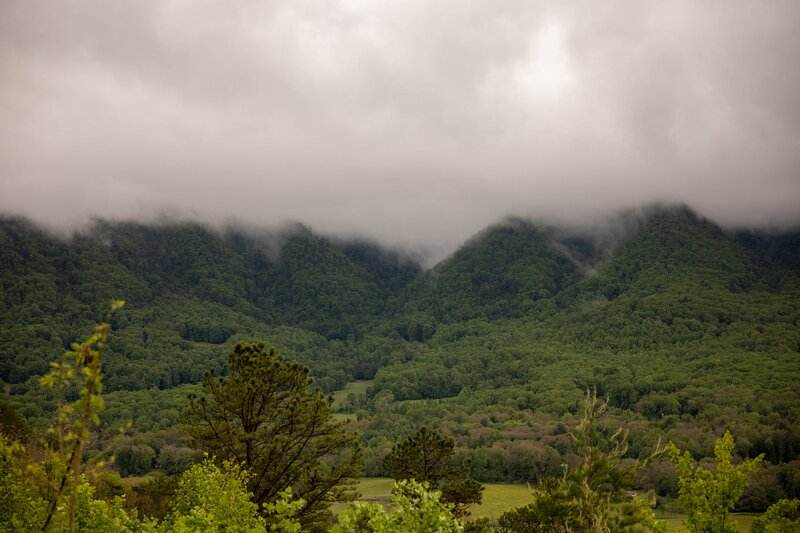 """You can see why they are called the """"Smoky Mountains"""""""