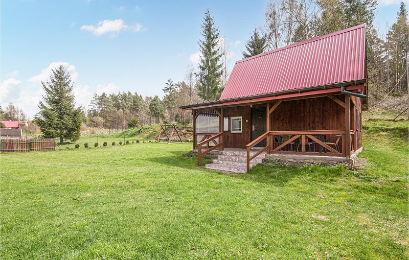 Awesome home in Jedwabno with 3 Bedrooms (PMA843), holiday rental in Stawiguda
