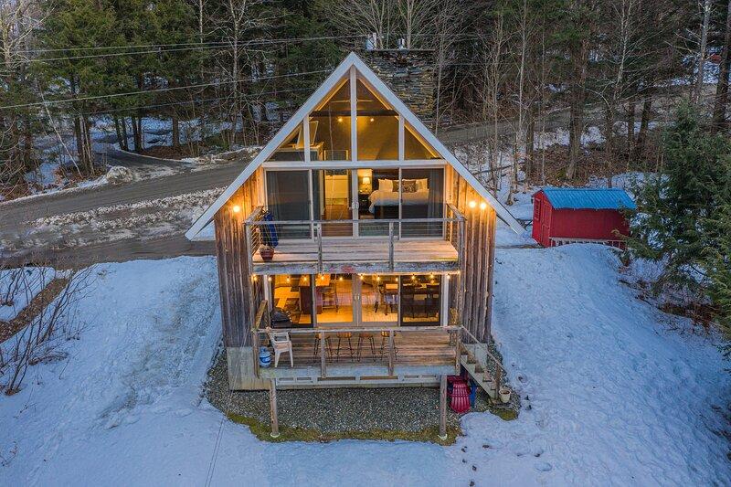 Classic Stowe Ski Chalet, casa vacanza a Hyde Park