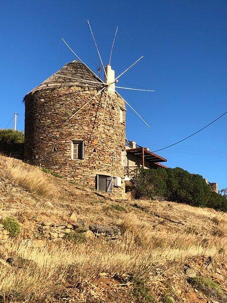 The stone windmill, holiday rental in Kea