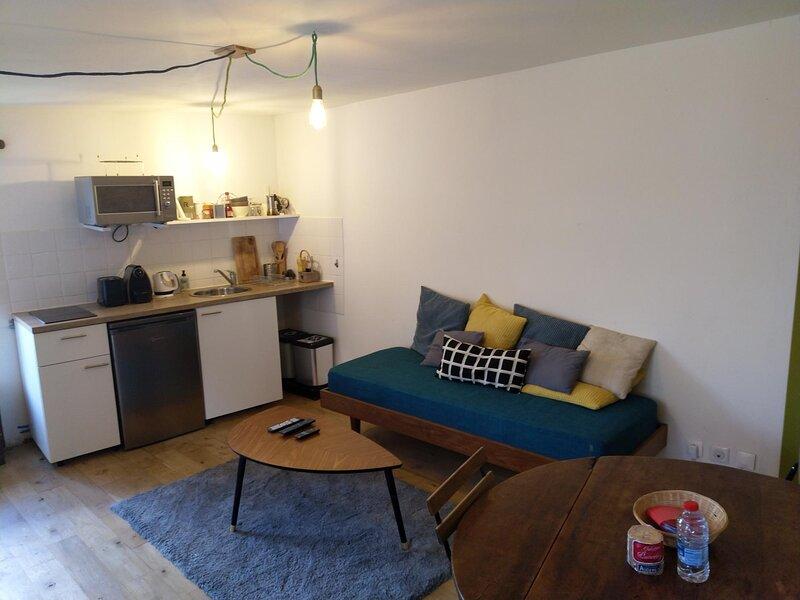 Appartement Duplex ** au coeur de la cité médiévale, casa vacanza a La Bussiere