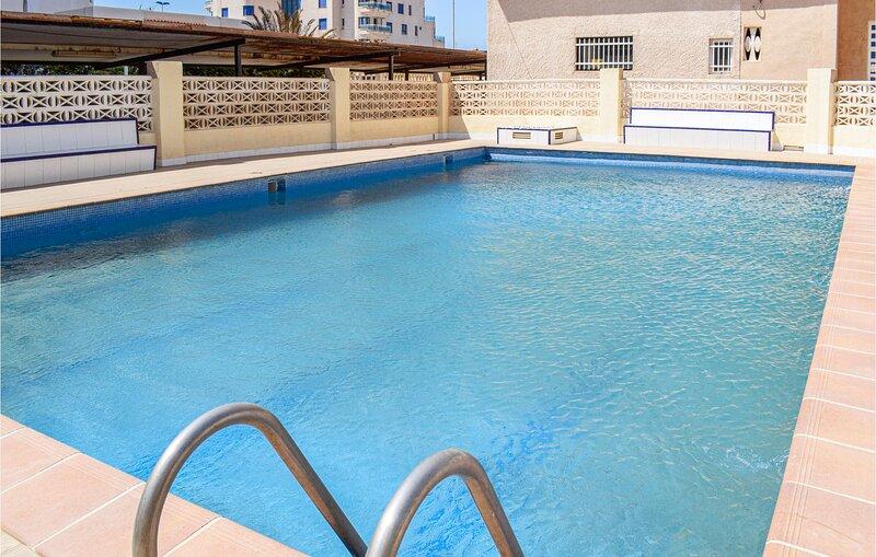 Amazing apartment in Cabo de Palos with Outdoor swimming pool, Internet and 3 Be, alquiler de vacaciones en Cabo de Palos
