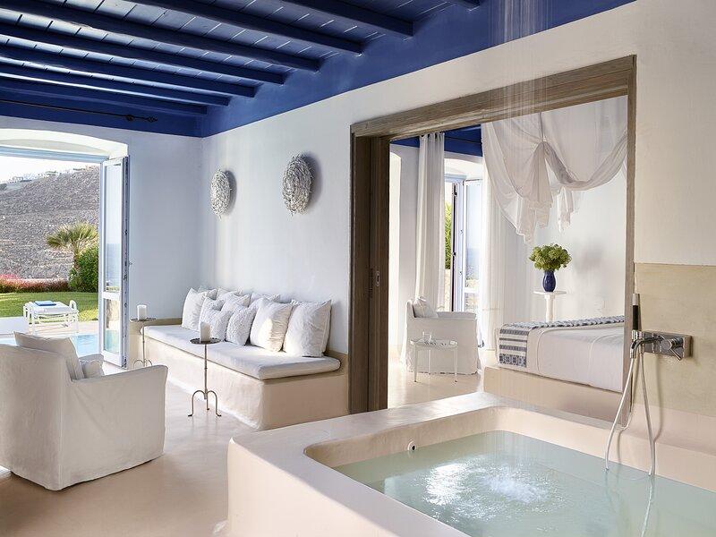 Deep Blu Villa, holiday rental in Psarou