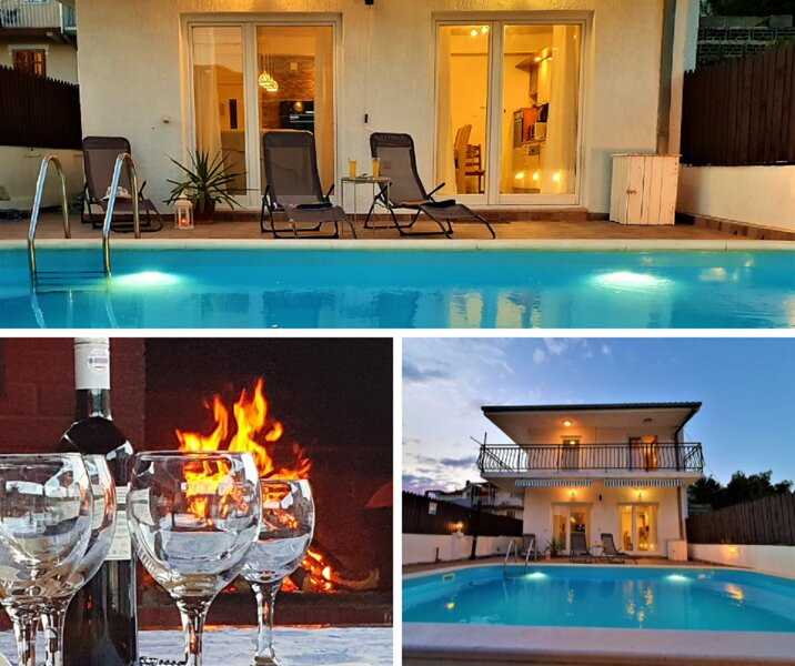 Bella Ciao holiday house with pool, holiday rental in Kastel Kambelovac