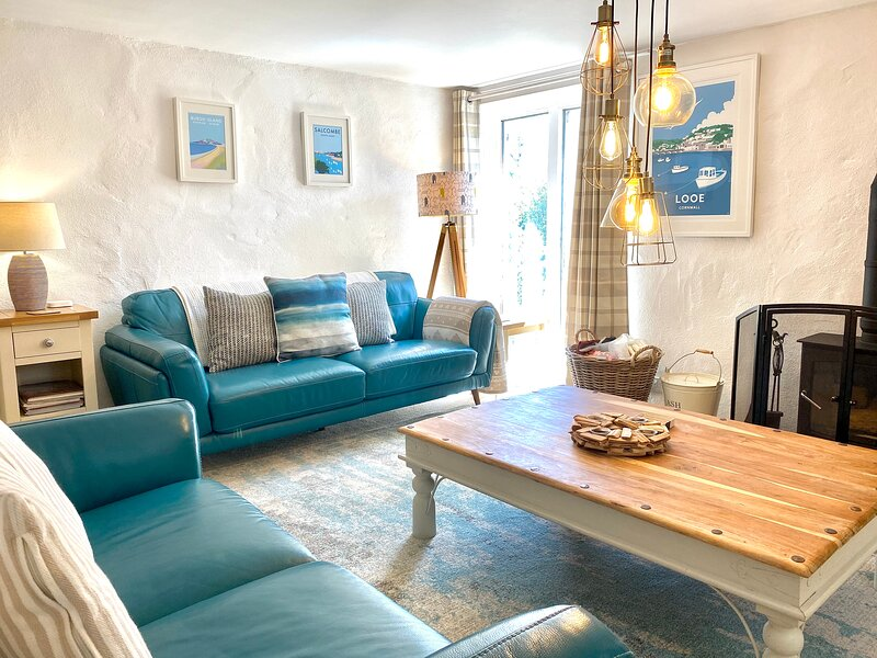 Captains Cottage, Cornwall, casa vacanza a Seaton