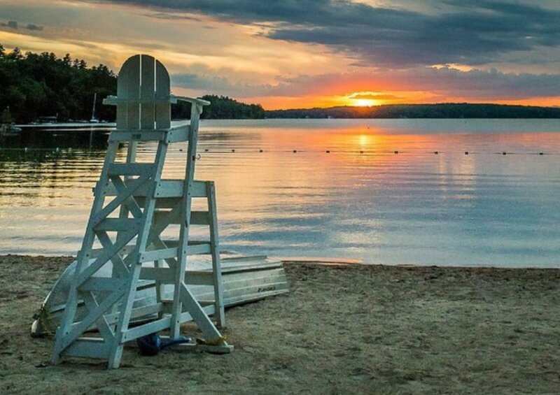 05-6 Portsmouth Pond Ldg (max 8) 5 min walk to Bay-FREE BIKES KAYAKS WOOD & WIFI, holiday rental in Ossipee