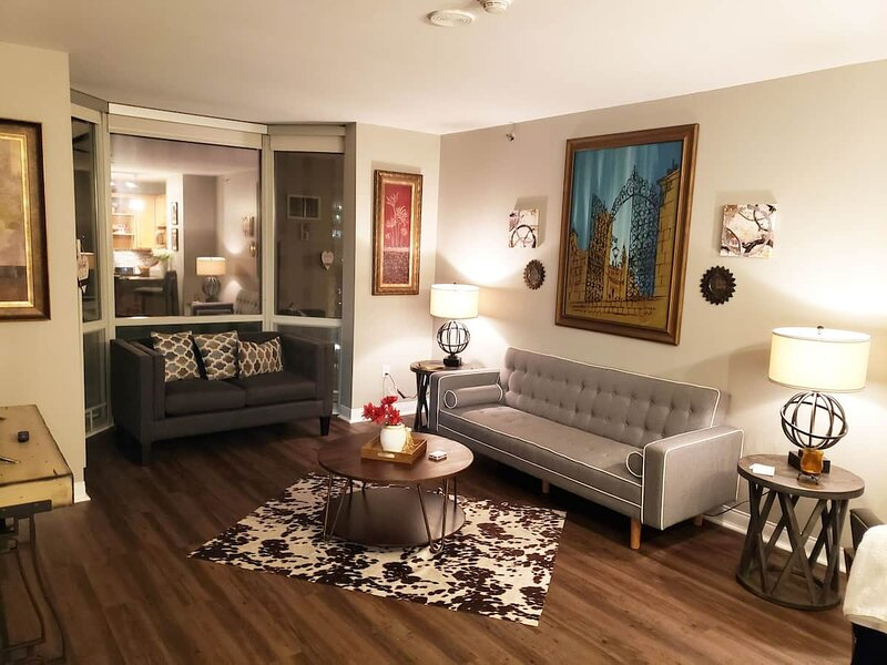 Cozy, Romantic, Rooftop Living, holiday rental in Saint Louis
