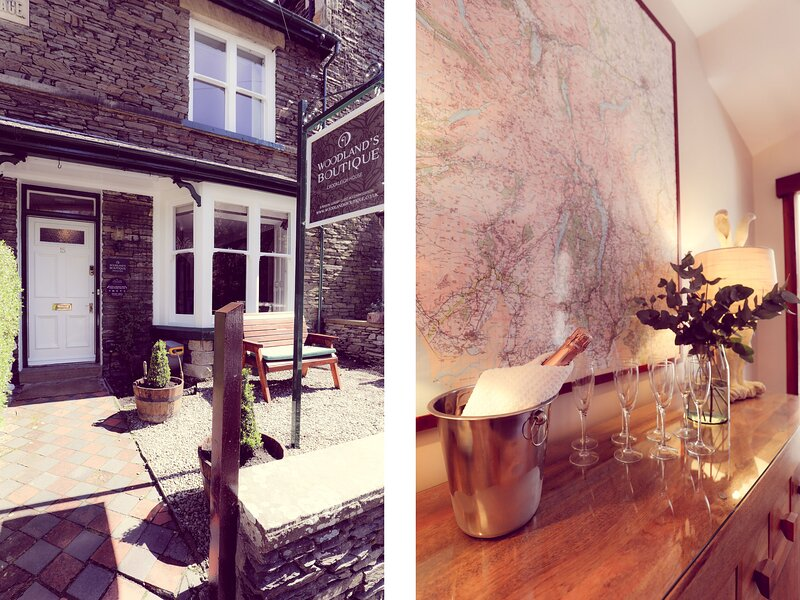 Woodland Boutique at Crookleigh House, Windermere, holiday rental in Ings