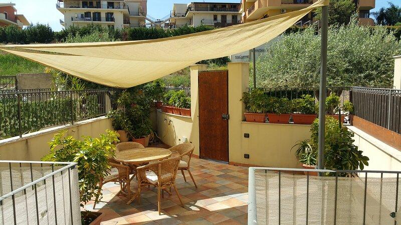 Villa Mosè 2, terrace, parking, alquiler de vacaciones en Agrigento