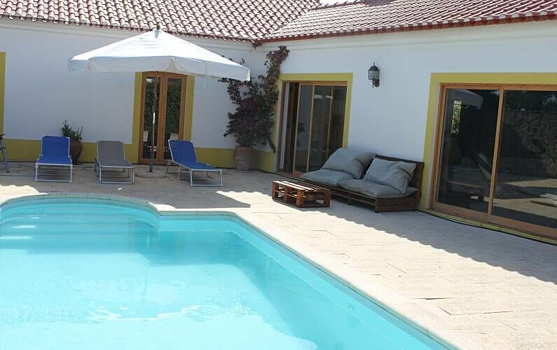Spacious villa with swimming-pool, holiday rental in Odemira