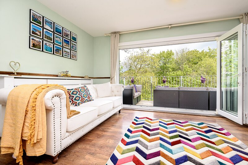 River View Retreat - family house close to the centre of Looe, alquiler vacacional en Looe
