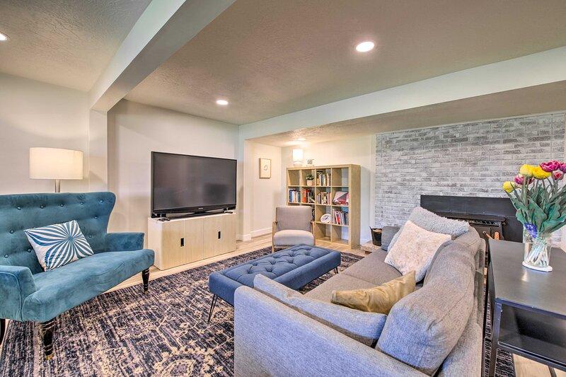 NEW! South Ogden Guest Suite by Snowbasin & More!, location de vacances à Riverdale