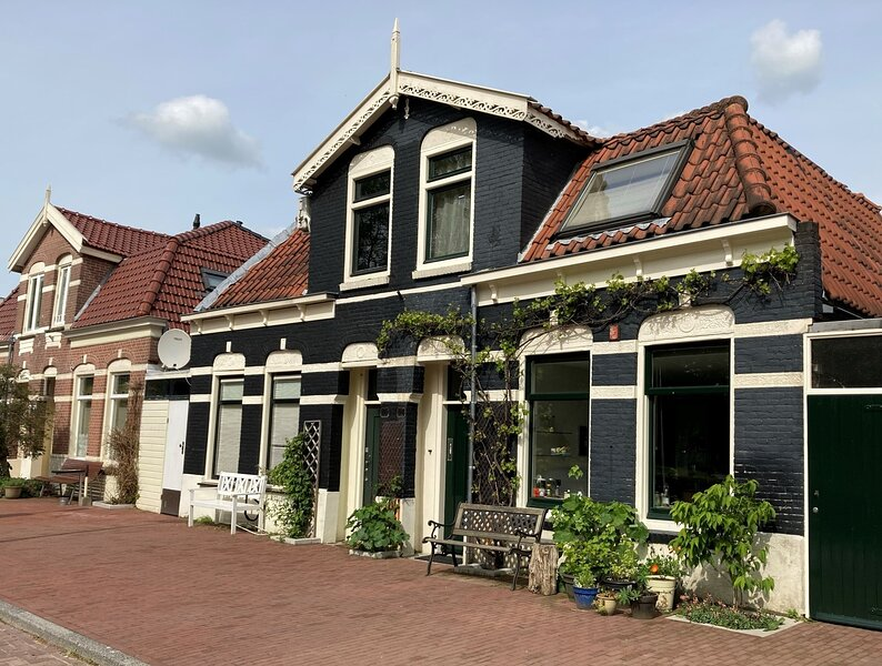 Charming en comfortable house on quiet street in Amsterdam, holiday rental in Zunderdorp