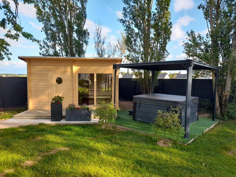 la ferme du moulin  - spa et piscine, holiday rental in Villemeux-sur-Eure