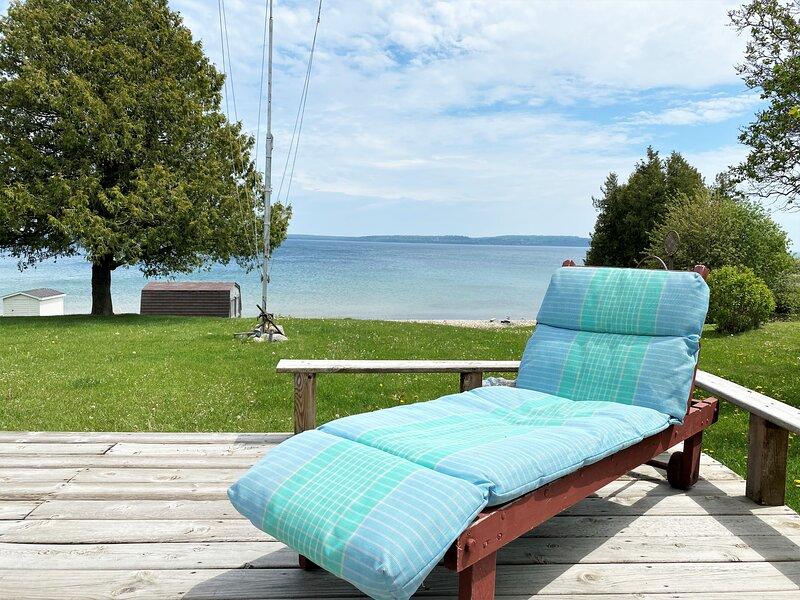 Tritons Cottage, holiday rental in Carp Lake