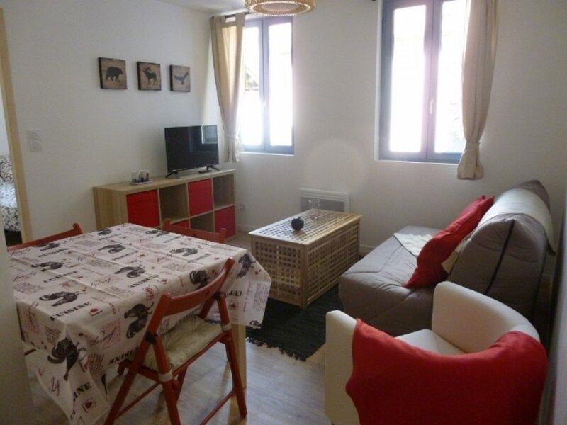 Agréable T2 dans résidence au centre d'Ax-les-thermes, vacation rental in Ascou