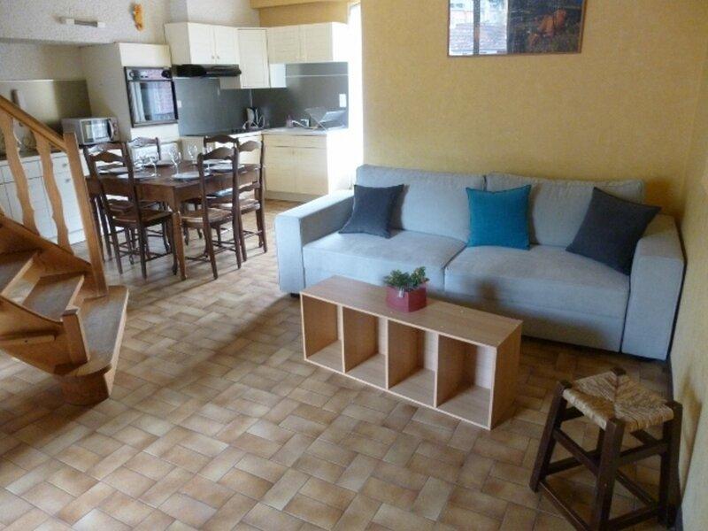 GRAND T1 MEZZANINE, vacation rental in Ascou