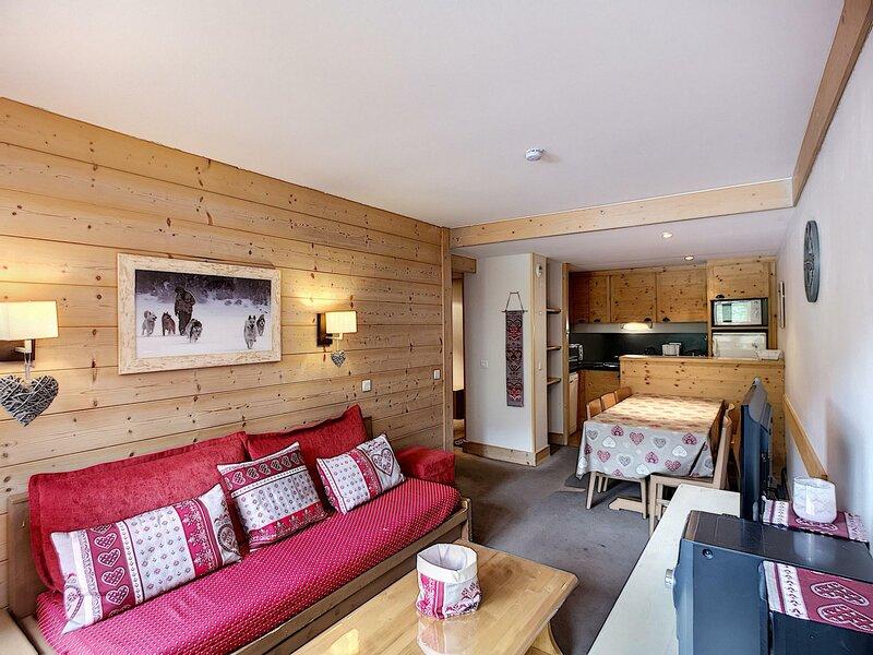 ACONIT 110 - Spacieux appartement équipé pour 6 pers 50m² expo SO  ski aux pieds, casa vacanza a Les Bruyeres